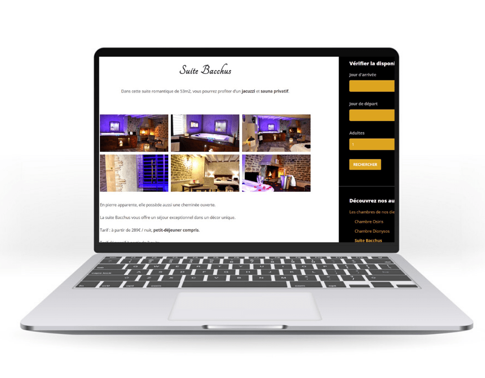 Site internet : domaine-vandenesse-spa.fr