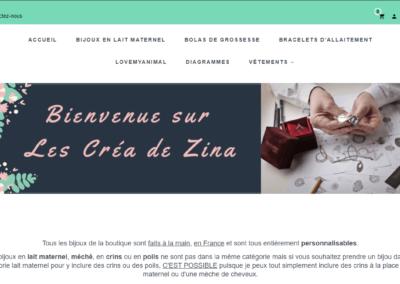 CREA DE ZINA